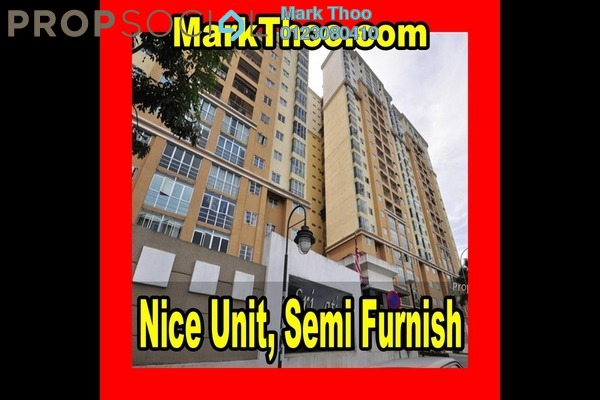 For Rent Condominium at Sri Jati I, Old Klang Road Freehold Semi Furnished 3R/2B 1.2k