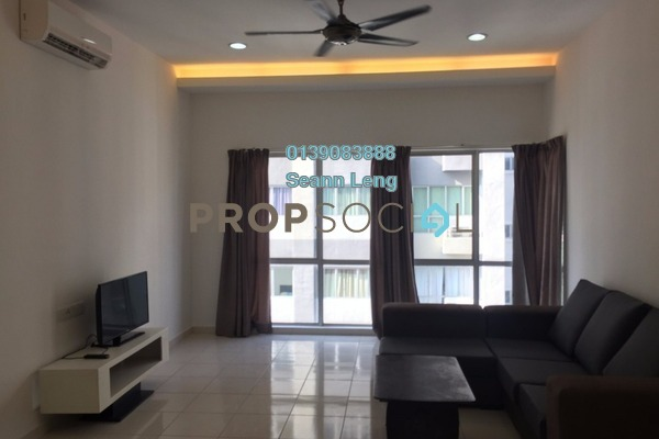 For Rent Serviced Residence at I Residence, Kota Damansara Leasehold Fully Furnished 3R/2B 2.5k