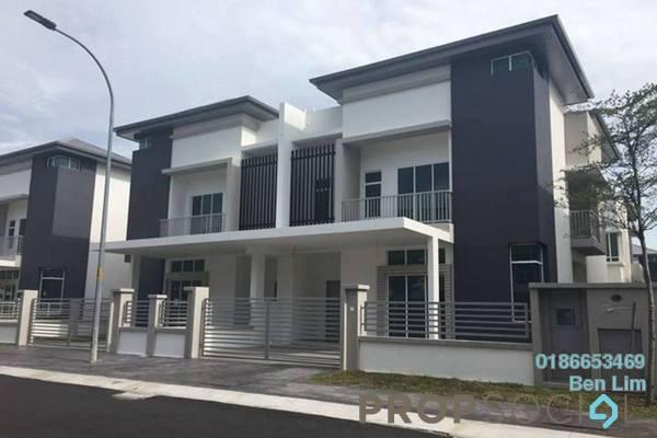 For Rent Terrace at Canary Garden, Bandar Bestari Freehold Semi Furnished 5R/5B 3.5k