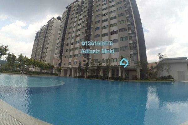 For Sale Apartment at Suria Ixora, Setia Alam Freehold Unfurnished 3R/2B 275k