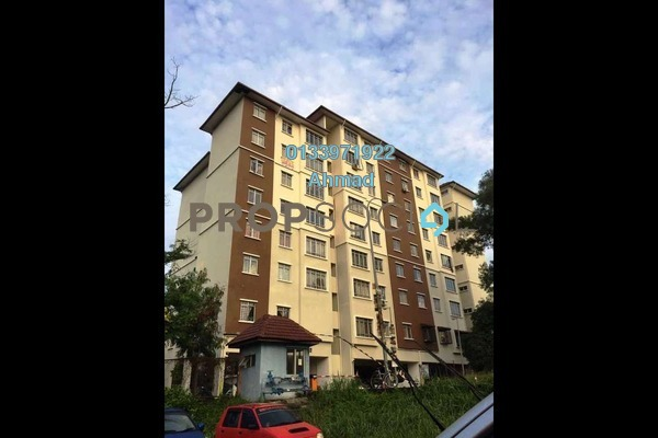 For Sale Apartment at Suria Subang Apartment, Shah Alam Leasehold Fully Furnished 3R/2B 280k