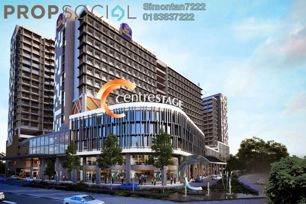 For Rent Shop at Centrestage, Petaling Jaya Leasehold Unfurnished 0R/0B 49k