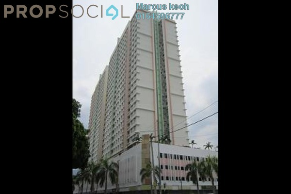 For Sale Condominium at Harmony View, Jelutong Freehold Semi Furnished 3R/1B 400k