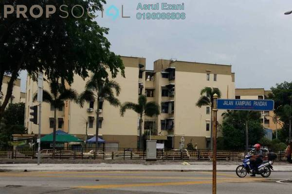 For Sale Apartment at Desa Pandan Apartment, Desa Pandan Freehold Semi Furnished 3R/2B 250k