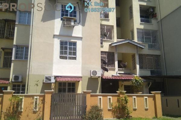 For Sale Apartment at Kasuarina Apartment, Klang Freehold Semi Furnished 3R/2B 315k