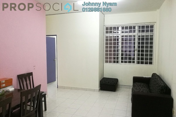 For Rent Apartment at Vista Hatamas, Cheras Freehold Semi Furnished 3R/2B 1.1k