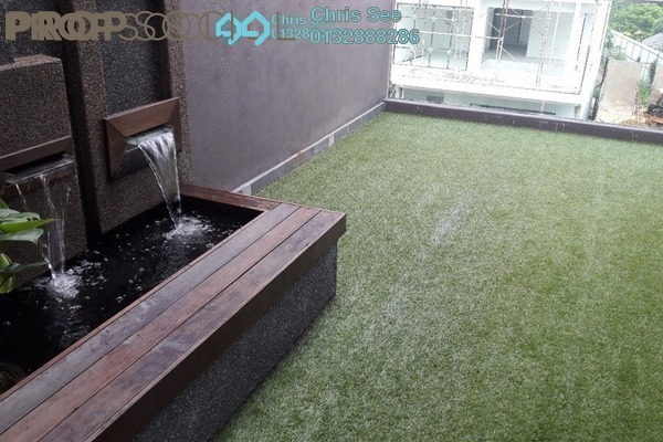 For Sale Bungalow at Hicom Glenmarie, Shah Alam Freehold Semi Furnished 4R/5B 3.3m