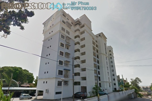For Rent Apartment at CostaVilla, Tanjung Tokong Freehold Fully Furnished 3R/2B 1.8k