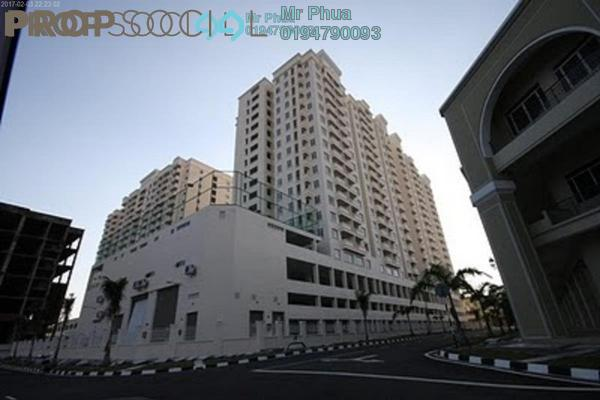 For Rent Condominium at D'Piazza Condominium, Bayan Baru Freehold Semi Furnished 3R/2B 1.6k