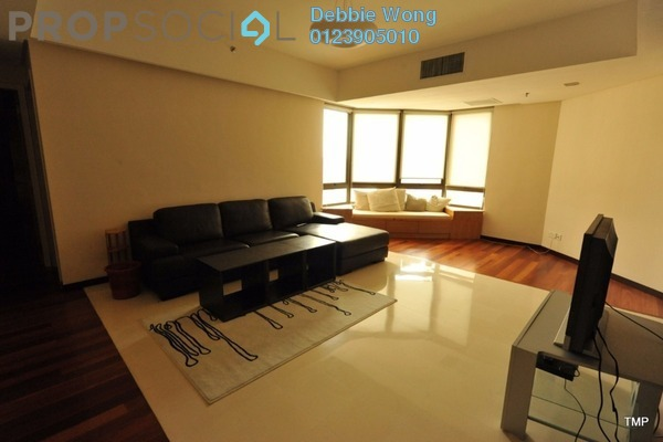 For Rent Condominium at i-Zen Kiara II, Mont Kiara Freehold Fully Furnished 3R/3B 3.8k