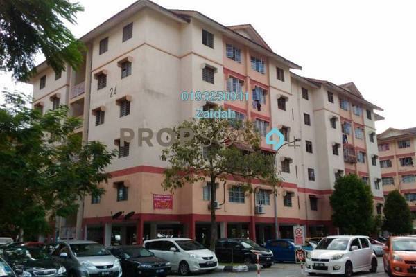 For Sale Apartment at PKNS Seksyen 7 Flat, Shah Alam Leasehold Unfurnished 3R/2B 190k