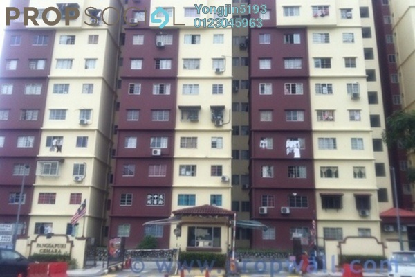 For Rent Condominium at Cemara Apartment, Bandar Sri Permaisuri Leasehold Unfurnished 3R/2B 1.4k