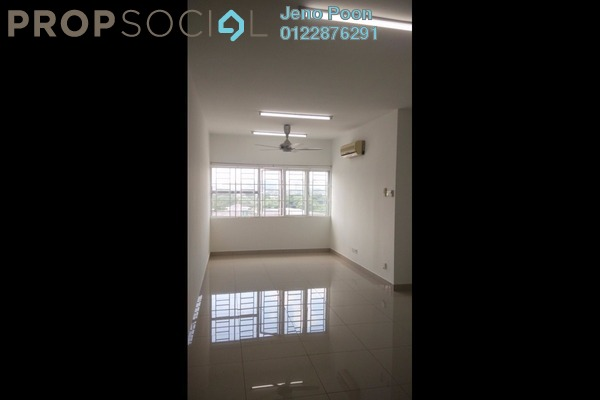 For Rent Apartment at 1Razak Mansion, Sungai Besi Freehold Semi Furnished 3R/2B 1.2k
