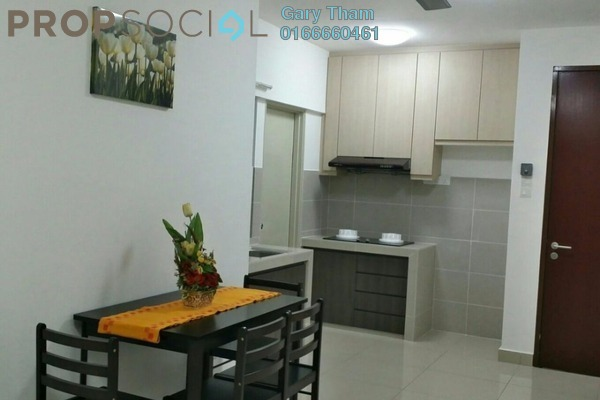 For Rent Apartment at Alam Sanjung, Shah Alam Freehold Semi Furnished 3R/2B 1.35k