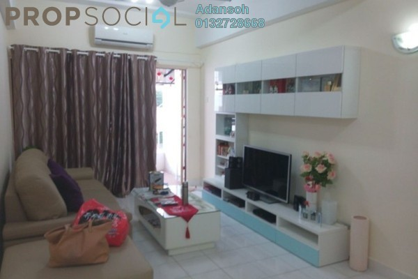 For Sale Apartment at Prima Saujana, Kepong Leasehold Fully Furnished 3R/2B 318k
