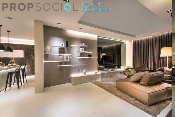 For Rent Condominium at Marc Service Residence, KLCC Freehold Semi Furnished 4R/0B 12k