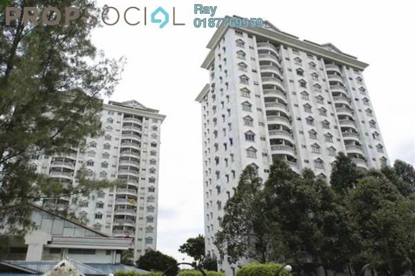 For Rent Condominium at Endah Villa, Sri Petaling Leasehold Fully Furnished 3R/2B 1.6k
