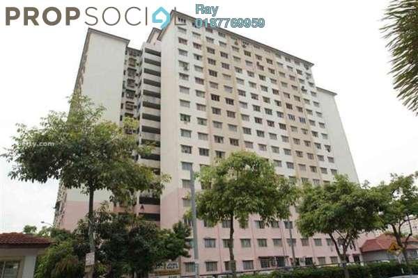 For Rent Apartment at Cendana Apartment, Bandar Sri Permaisuri Leasehold Semi Furnished 3R/2B 1.1k