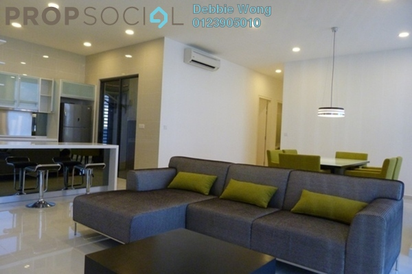 For Rent Condominium at Mirage Residence, KLCC Freehold Fully Furnished 2R/2B 5.3k