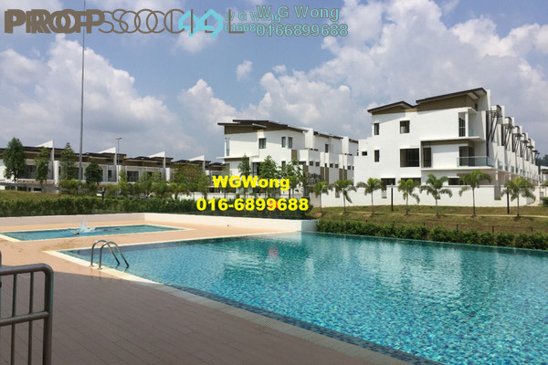 For Sale Superlink at Anggun 3, Rawang Freehold Unfurnished 5R/5B 799k