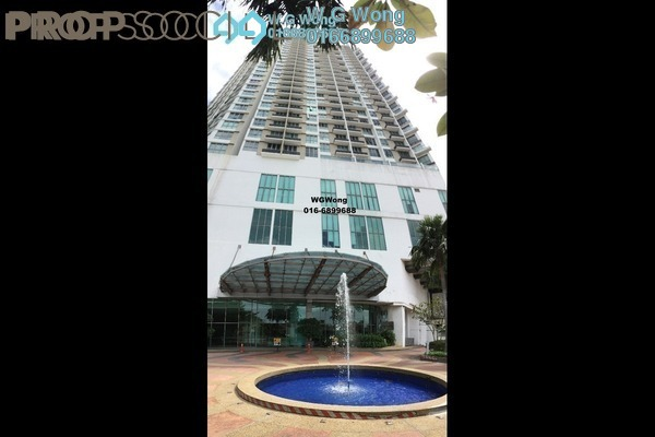 For Sale Serviced Residence at Tropicana City Tropics, Petaling Jaya Freehold Fully Furnished 2R/2B 618k