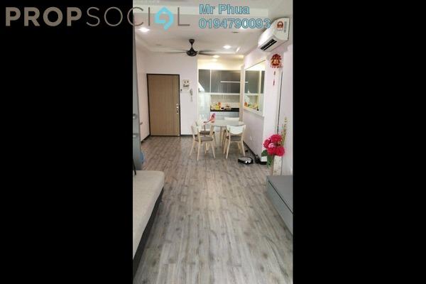 For Sale Condominium at Palma Laguna, Seberang Jaya Freehold Semi Furnished 4R/2B 400k