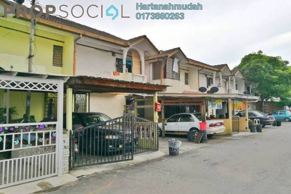 For Sale Townhouse at Taman Kajang Utama, Kajang Freehold Unfurnished 3R/1B 120k