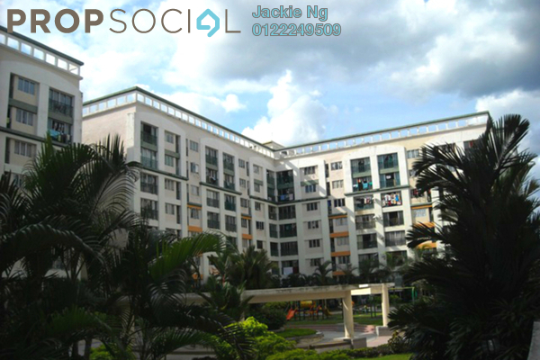 For Sale Condominium at Plaza 393, Cheras Leasehold Semi Furnished 2R/1B 368k