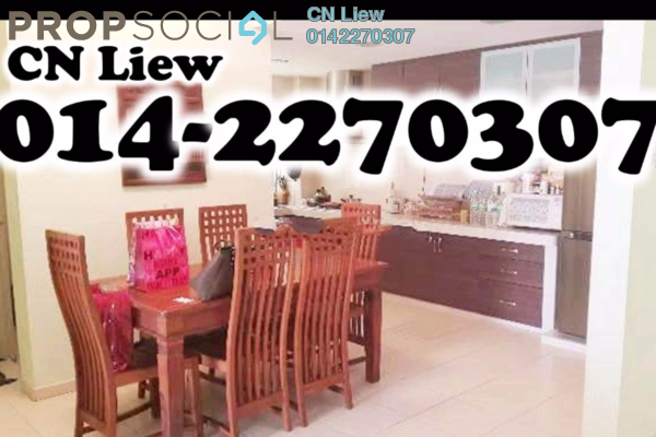 For Rent Condominium at Platinum Lake PV10, Setapak Leasehold Fully Furnished 3R/2B 1.8k