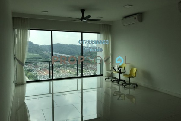For Rent Condominium at One Central Park, Desa ParkCity Freehold Semi Furnished 4R/4B 4.3k