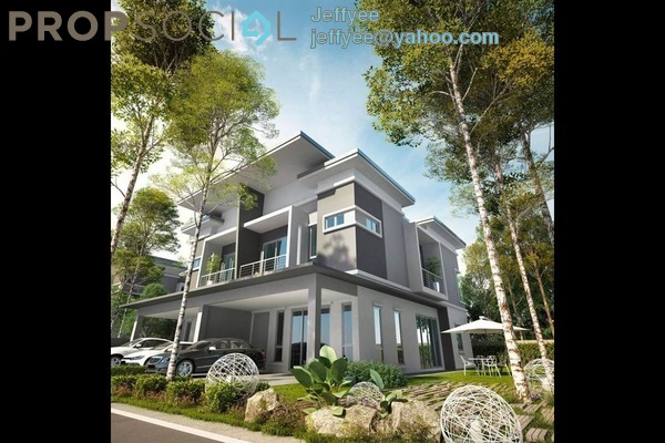 For Sale Semi-Detached at Ridgeview Residences, Kajang Freehold Unfurnished 5R/3B 1.36m
