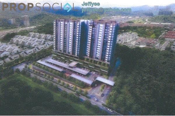 For Sale Condominium at Twin Palms, Bandar Sungai Long Freehold Semi Furnished 3R/2B 393k