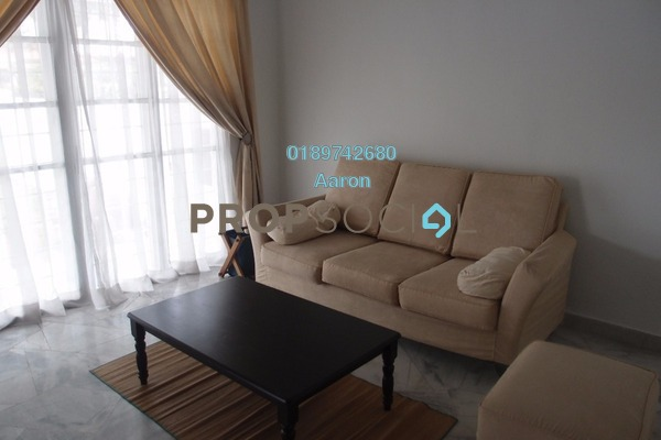 For Rent Terrace at PJU 1, Petaling Jaya Freehold Semi Furnished 4R/3B 2.2k
