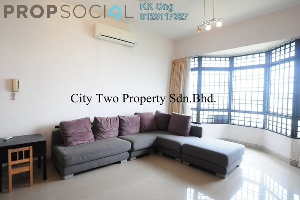 For Sale Condominium at Robson Condominium, Seputeh Freehold Semi Furnished 3R/2B 800k