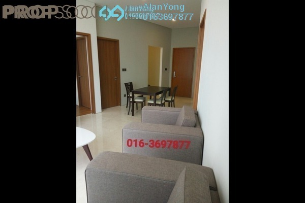 For Rent Condominium at Vortex Suites & Residences, KLCC Freehold Fully Furnished 2R/2B 3.7k