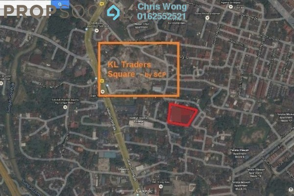 For Sale Land at KL Traders Square, Kuala Lumpur Freehold Unfurnished 0R/0B 18.3m