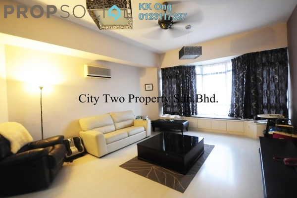 For Sale Condominium at Robson Condominium, Seputeh Freehold Semi Furnished 3R/2B 750k