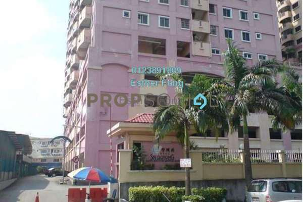 For Rent Apartment at Sri Gotong Apartment, Selayang Leasehold Fully Furnished 3R/2B 1.4k