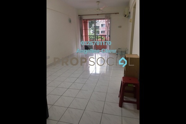 For Rent Condominium at Arena Green, Bukit Jalil Freehold Semi Furnished 2R/1B 1.2k