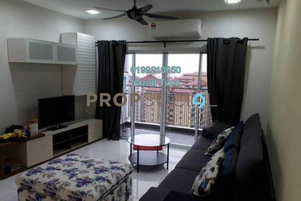 For Rent Condominium at D'Pines, Pandan Indah Freehold Fully Furnished 3R/2B 2.5k