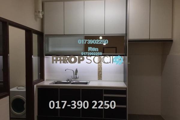 For Rent Condominium at Villa Park, Seri Kembangan Freehold Semi Furnished 4R/3B 1.2k