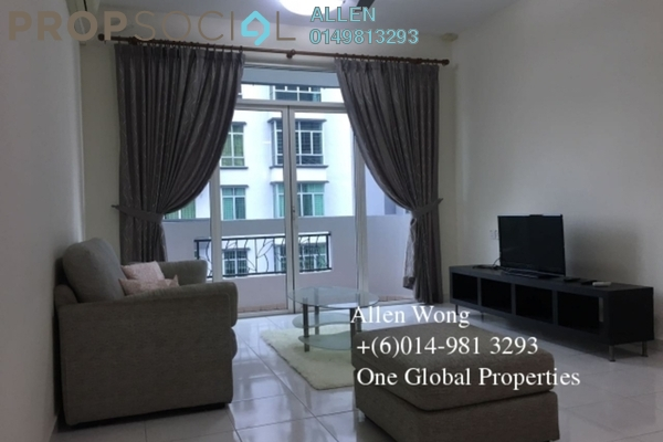 For Rent Condominium at Taman Perling, Iskandar Puteri (Nusajaya) Leasehold Fully Furnished 3R/2B 1.6k