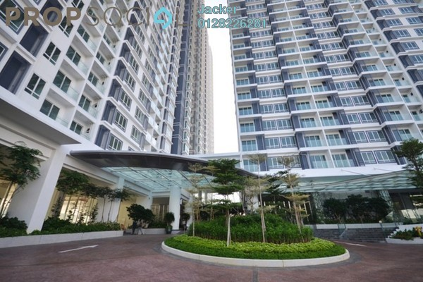 For Rent Serviced Residence at Desa Green Serviced Apartment, Taman Desa Freehold Fully Furnished 2R/2B 1.6k