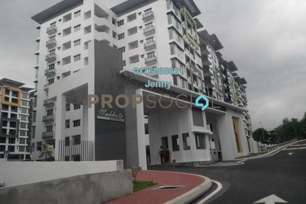 For Sale Condominium at Mahkota Garden Condominium, Bandar Mahkota Cheras Freehold Semi Furnished 4R/2B 535k