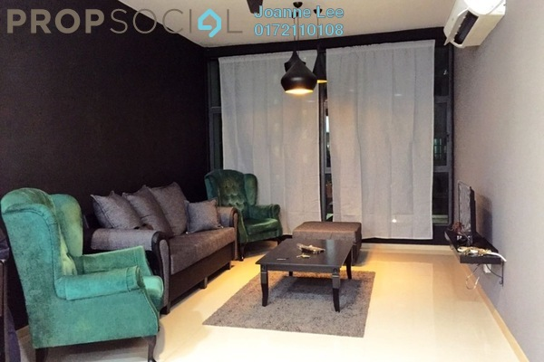 For Rent Condominium at Vista Alam, Shah Alam Leasehold Fully Furnished 2R/2B 1.8k