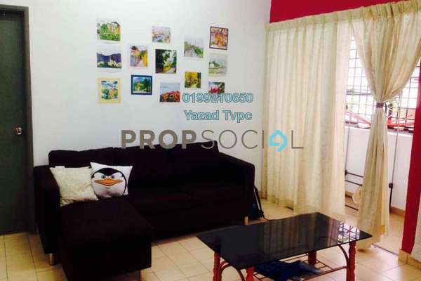 For Rent Apartment at Taman Megah, Cheras South Freehold Fully Furnished 3R/2B 1.2k