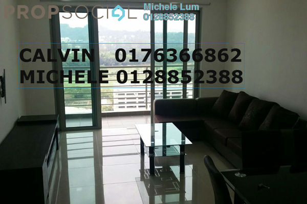 For Rent Condominium at Parc @ One South, Seri Kembangan Leasehold Fully Furnished 3R/2B 2.5k