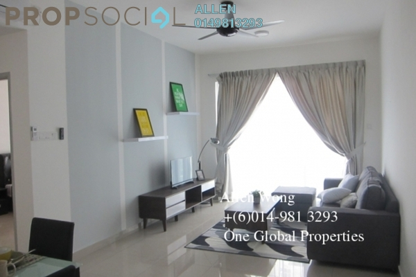 For Rent Condominium at Taman Johor Jaya, Johor Bahru Leasehold Fully Furnished 3R/2B 2.3k