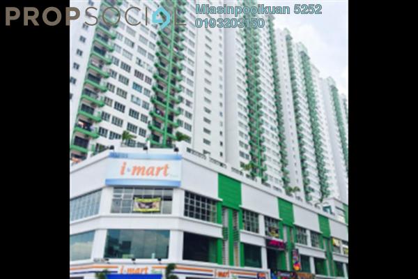 For Rent Serviced Residence at OUG Parklane, Old Klang Road Freehold Semi Furnished 3R/2B 1.45k