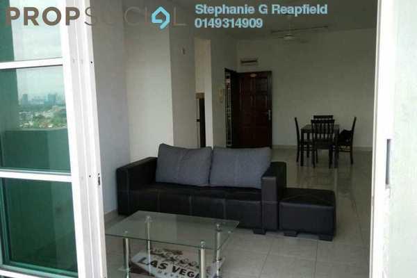 For Sale Condominium at Kelana Sentral, Kelana Jaya Freehold Semi Furnished 3R/2B 490k